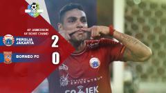 Indosport - Persija vs Borneo.