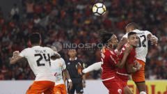 Indosport - Persija vs Borneo FC.