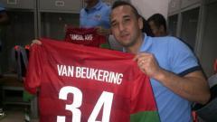 Indosport - Mantan pemain Tim Nasional Indonesia Jhon van Beukering.