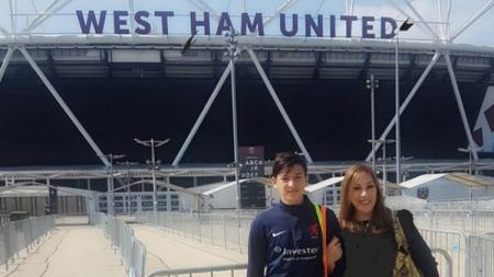 Ibunda Jack Brown buka suara terkait dugaan putranya bakal dicoret dari skuat timnas Indonesia U-19. - INDOSPORT