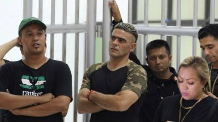 Cristian Gonzales hadir dalam peluncuran skuat PSS Sleman. - INDOSPORT