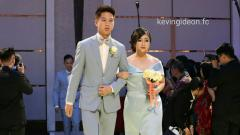 Indosport - Kevin Sanjaya dan Samantha.
