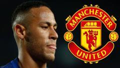 Indosport - Neymar dikabarkan tertarik gabung Manchester United.