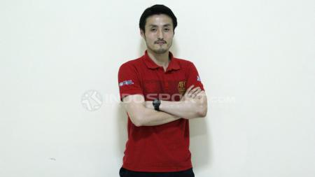 Pelatih Timnas Futsal Indonesia, Kensue Takahasi. - INDOSPORT