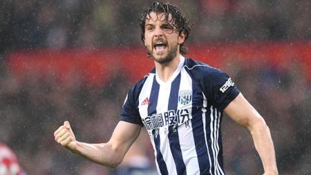 Jay Rodriguez, striker West Brom. - INDOSPORT
