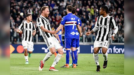 Juventus vs Sampdoria. - INDOSPORT