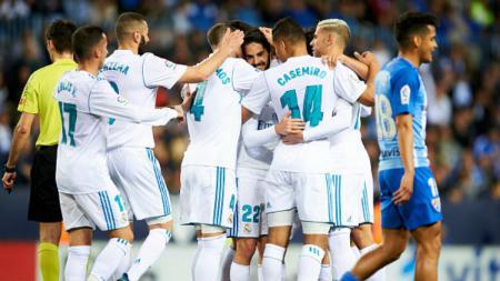 Malaga vs Real Madrid. - INDOSPORT