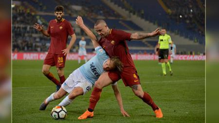 Derby Roma akan mewarnai sisa laga pekan kedua Serie A Italia 2019/20. - INDOSPORT