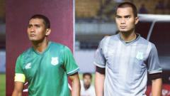 Indosport - Legimin Raharjo (kiri) dan Dhika Bhayangkara (kanan)