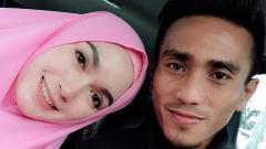 Indosport - Muhammad Taufiq dan Istri.