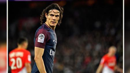 Edinson Cavani, striker PSG. - INDOSPORT
