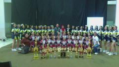 Indosport - Tim Cheerleader Charts asal Bandung.