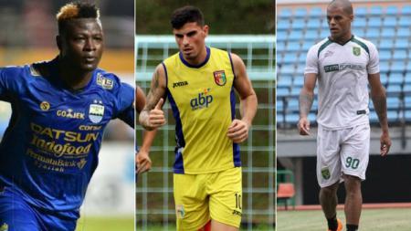 Penyerang-penyerang asing di Liga 1 2018. - INDOSPORT