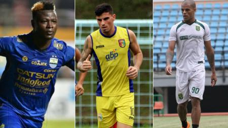 Top Skor Sementara Liga 1 2018. - INDOSPORT