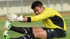 Indosport - Shahar Ginanjar berlatih saat berseragam Persib Bandung.
