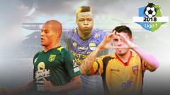 Indosport - Fernando Rodriguez Ortega, David da Silva dan Ezechiel NDouassel.