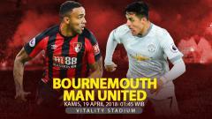 Indosport - Prediksi Bournemouth vs Manchester United.