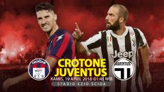 Indosport - Prediksi Crotone vs Juventus.