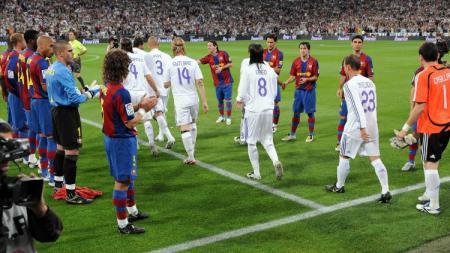 Pasillo Barcelona kepada Madrid - INDOSPORT