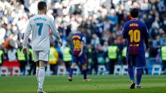 Indosport - Laporan media Spanyol menyebutkan bahwa Ronaldo menganggap penampilan Messi sebagai 'lelucon'.