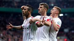Indosport - Bayern Leverkusen vs Bayern Munchen.