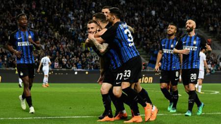 Inter Milan vs Cagliari. - INDOSPORT