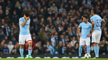 Sergio Aguero, striker Man City. - INDOSPORT