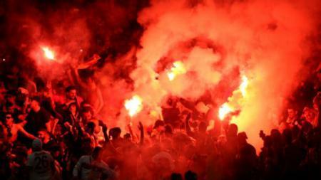 Ilustrasi Ultras Liga Polandia - INDOSPORT
