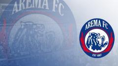 Indosport - Logo Arema FC.