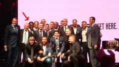 Indosport - Penampakan Essien dalam foto yang di unggah akun Twitter Juventus.