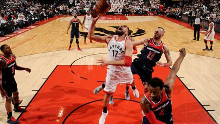 Washington Wizards vs Toronto Raptors. - INDOSPORT