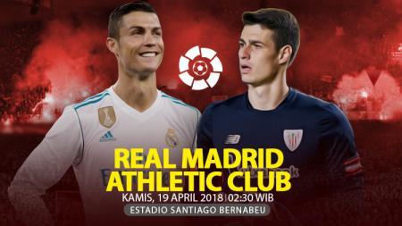 Prediksi Real Madrid vs Athletic Bilbao. - INDOSPORT