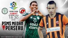 Indosport - Prediksi PSMS Medan vs Perseru Serui
