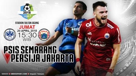 PSIS Semarang vs Persija Jakarta. - INDOSPORT