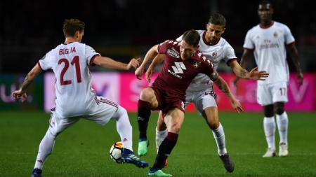 Torino vs AC Milan. - INDOSPORT