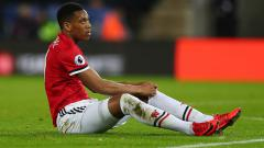 Indosport - Anthony Martial, pemain bintang Man United.