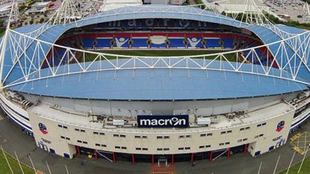 Macron Stadium, markas Bolton Wanderers. - INDOSPORT