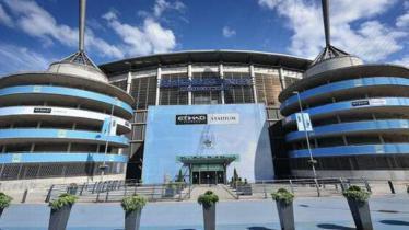 Etihad Stadium, markas Manchester City. - INDOSPORT