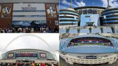Indosport - Opsi Stadion untuk Man United selama Old Trafford menjalani penambahan jumlah kursi penonton.