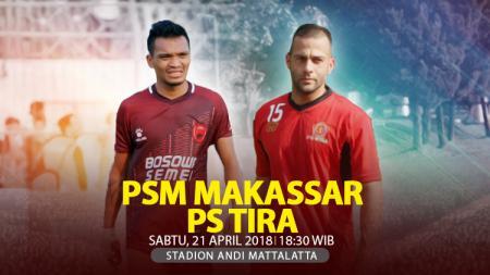 Prediksi PSM Makassar vs PS TIRA. - INDOSPORT