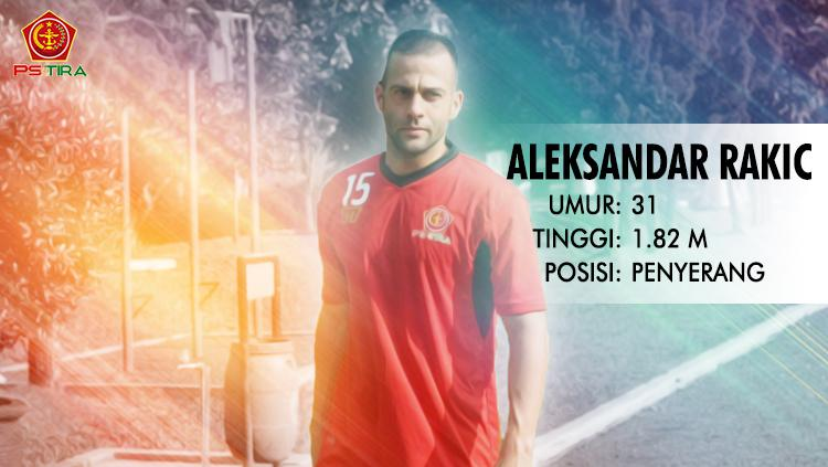 PSM Makassar vs PS TIRA (Aleksandar Rakic). Copyright: INDOSPORT