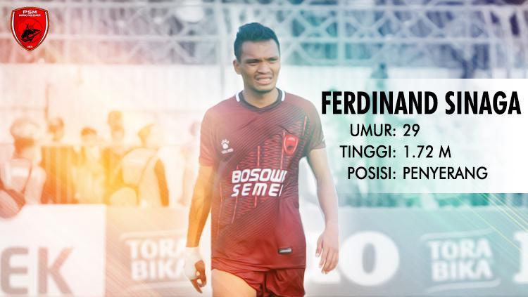 PSM Makassar vs PS TIRA (Ferdinand Sinaga). Copyright: INDOSPORT