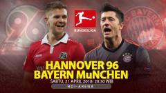 Indosport - Prediksi Hannover 96 vs Bayern Munchen.