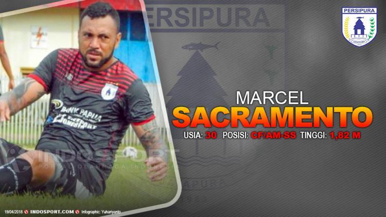 Player To Watch Marcel Sacramento (Persipura Jayapura) Copyright: Gafis:Yanto/Indosport.com