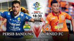 Indosport - Prediksi Persib Bandung vs Borneo FC