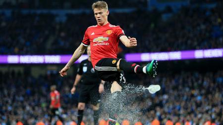 Bintang muda Manchester United, Scott McTominay. - INDOSPORT