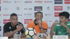 Indosport - Konferensi pers PSMS vs Perseru.