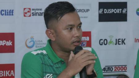 Asisten Pelatih PSMS Medan, Muhammad Yusup Prasetyo. - INDOSPORT