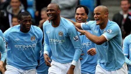Legenda Manchester City, Patrick Vieira - INDOSPORT