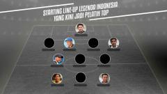 Indosport - Starting Legenda Sepakbola Indonesia.